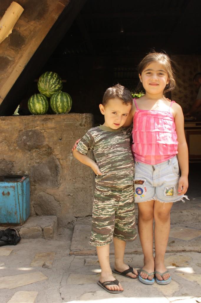 Armenian boy and girl