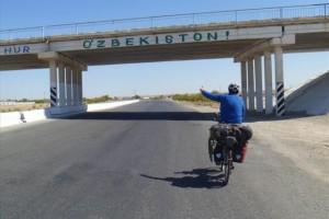 Radreisebericht – durch Turkmenistan und Usbekistan nach Kirgisistan
