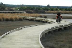 Mit dem Rad durch Neuseeland Teil 7: Durch Watt und Meeresengen
