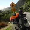 Mit dem Rad durch Neuseeland Teil 6: Wettblöken mit einheimischen Schafen