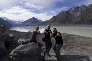 Mit dem Rad durch Neuseeland Teil 3: Gletscherseen und Campervans