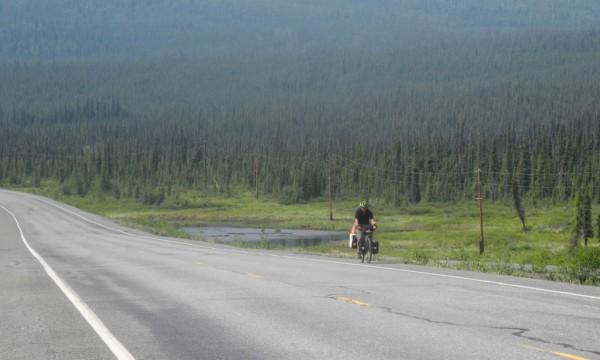 Mit dem Rad durch Alaska: Tok Cutoff per Fahrrad