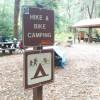 Hiker Biker Camping
