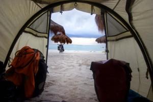 Mexikos Karibikstrände mit dem Fahrrad entdecken