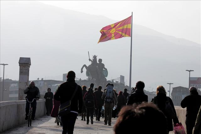 Alexander the Great in Skopje
