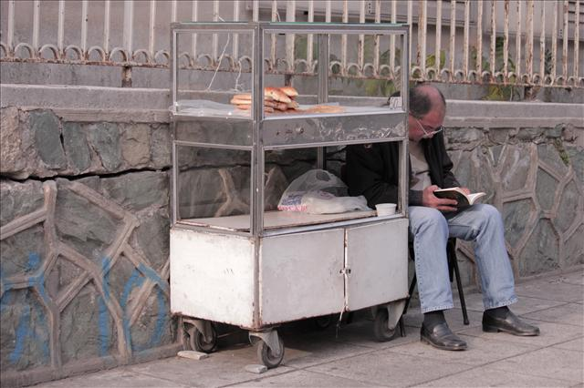 The street baker