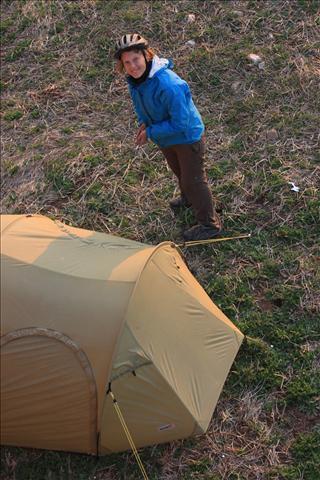 Camping in Sarıabat