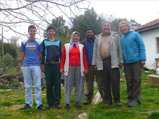 Görkhan, Hakan, Nuriye, Roberto, Sali and Annika