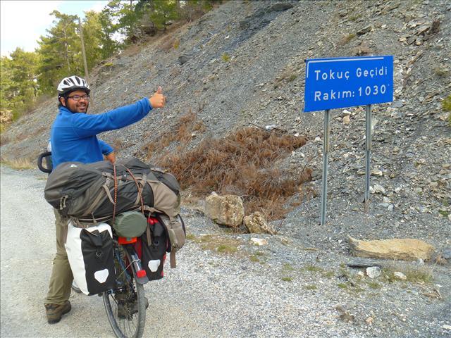 Roberto at the pass
