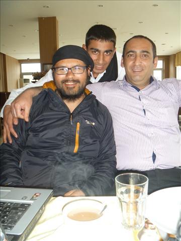Roberto, Ahmet and Hayati in Polatli