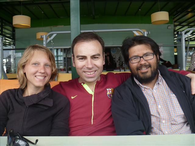 Mahir, our first host in Ankara