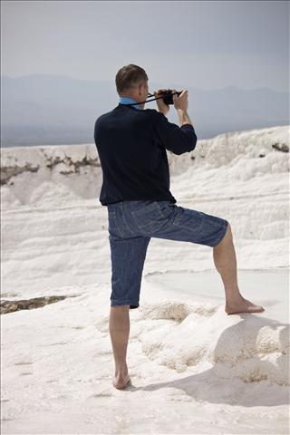 Photographer in Pammukale