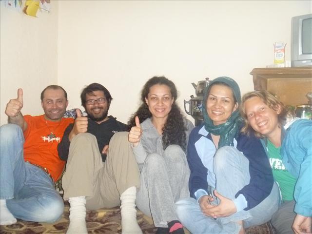 Arash, Roberto, Maggie, Shahnaz and Annika