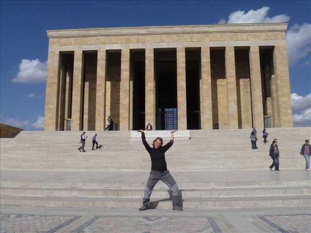 Anıtkabir, Atatürk's Mausoleum and one of Ankara's main attractions