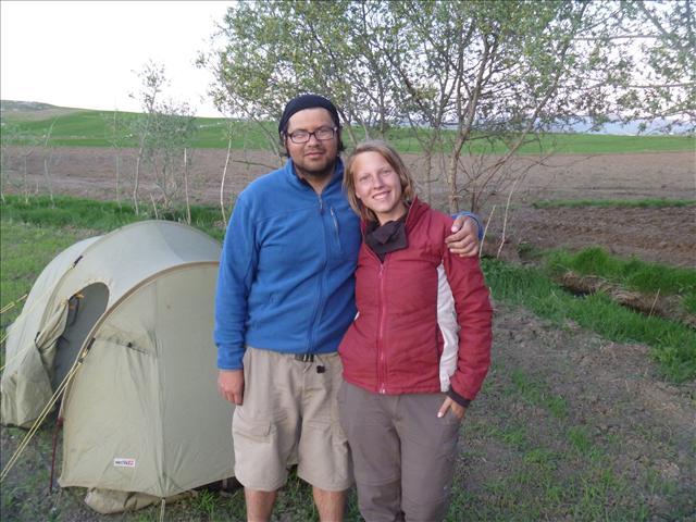Not so wild wild camping - thanks Ahmet!