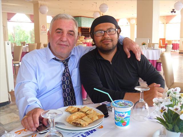 Ayran and Pide with Bayam