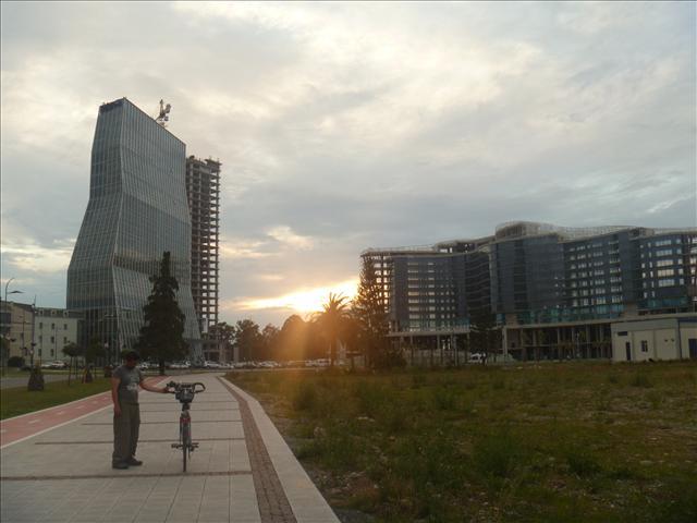 Sunset in Batumi