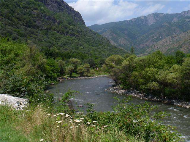 A beautiful river in Armenia