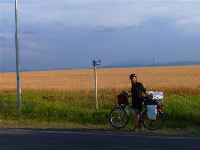 On the way to Armenia