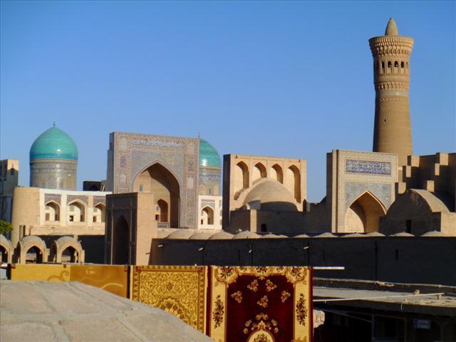The touristic part of Bukhara