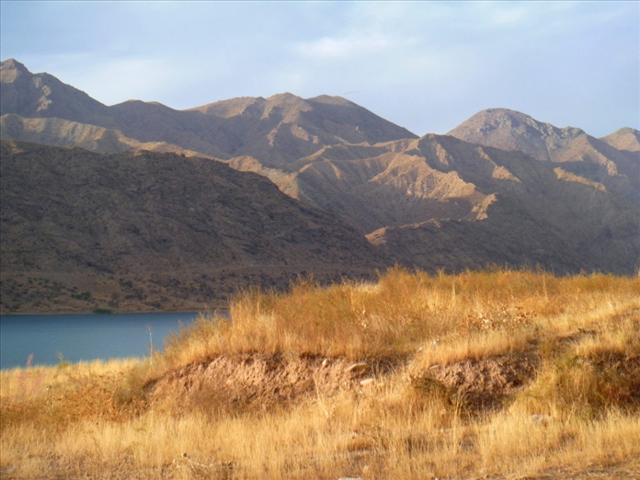 Along the Naryn