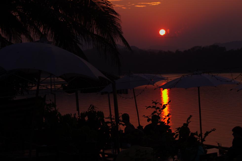 The Mekong's Sunset
