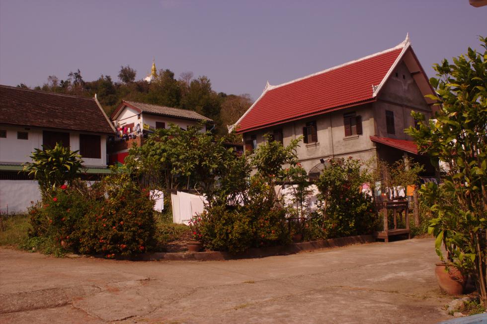 Houses in Luangpraban