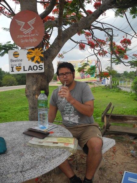 """""""I love Laos"""". And we love shade."""