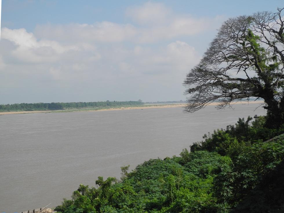 Mekong in Kratie, Cambodia