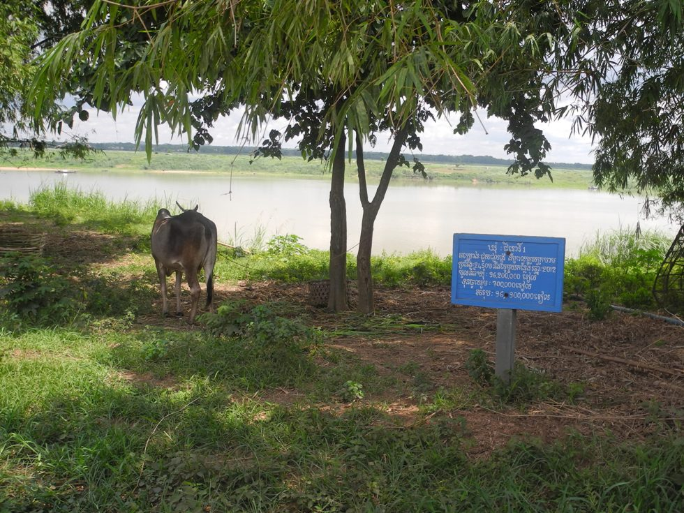 Mekong. Kurz vor Kampong Cham
