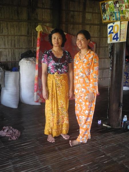 Bunny (rechts) und ihre Mutter