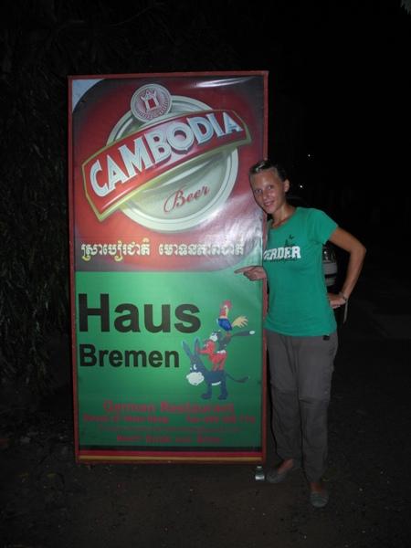 Werder Fan im Haus Bremen