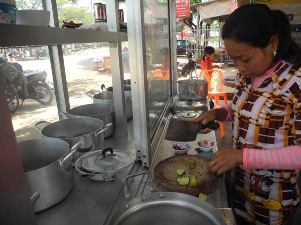 Kambodschanische Garküche