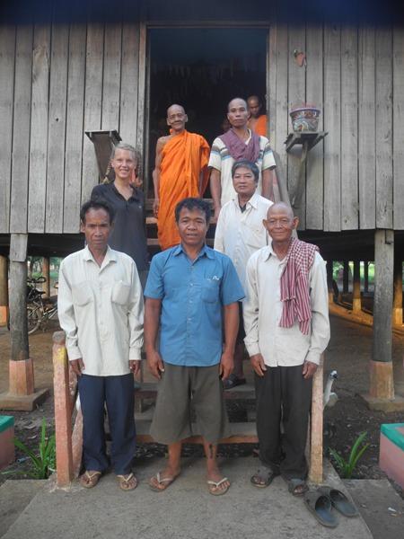 Kambodschanische Mönche