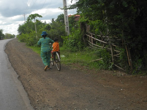 Typische Kambodschanische Landestracht
