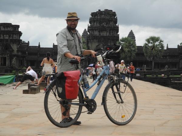 Angkor Wat zu Fuß