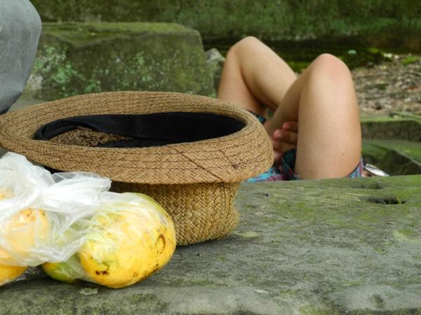 Mittagsschlaf in Angkor Wat