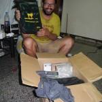 Sponsoring parcel from Unterwegs