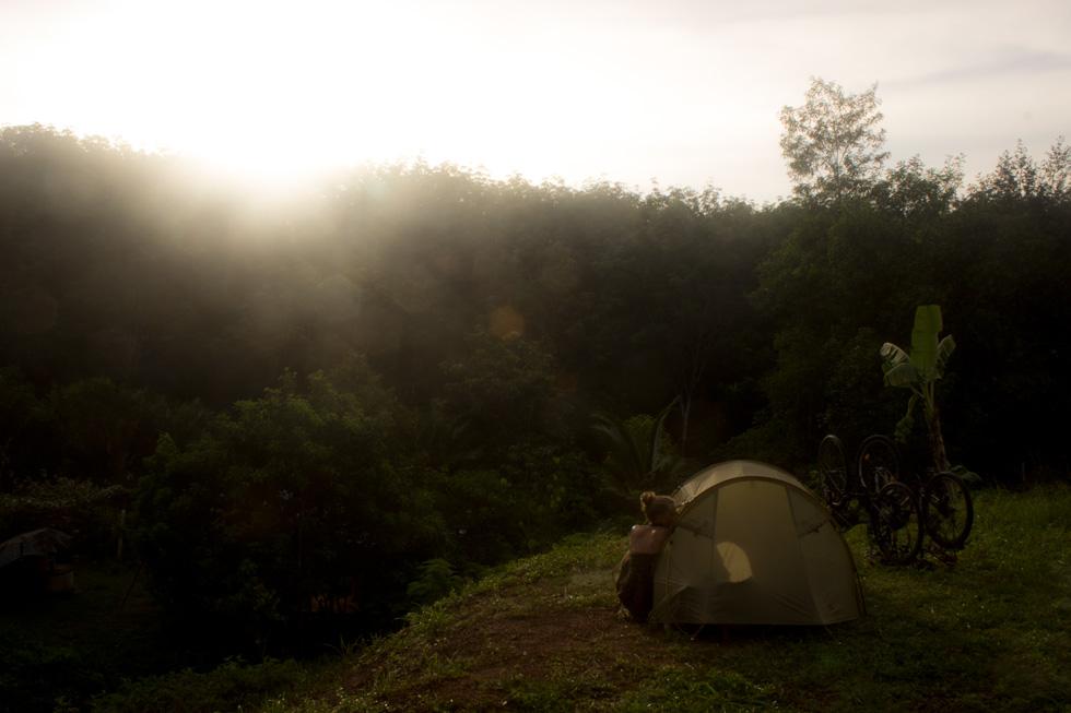 Acampando en Tailandia