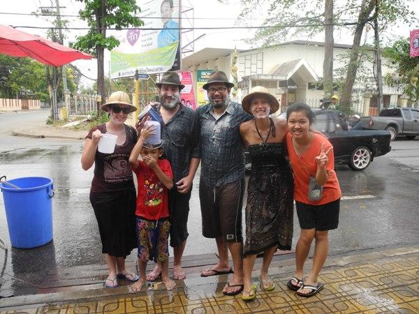Songkran in Nong Khai