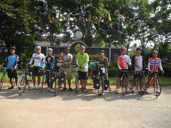 Ome's friends rom the bike club