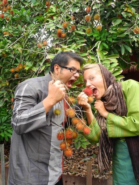 Besonders frische Rambutan