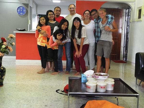 Bei Dila und ihrer Familie in Singapur