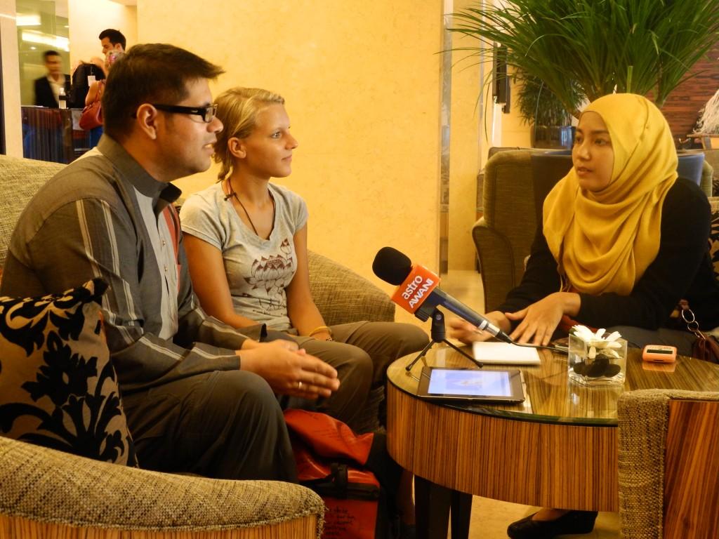 Interview mit Bihan von Astro Awani