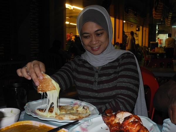 The most delicoius cheese nan of Kuala Lumpur