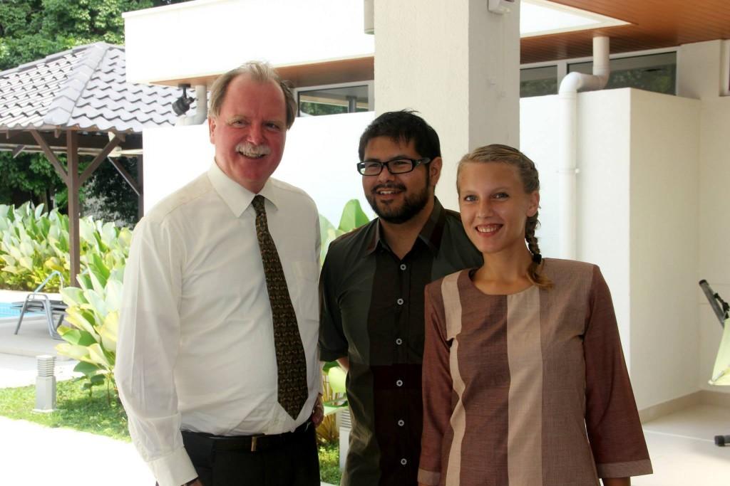 A well-travelled man: Ambassador Holger Michael