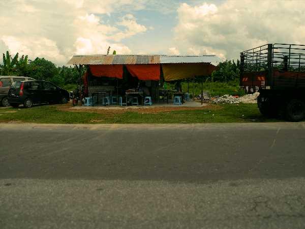 Straßenrestaurant in Malaysia