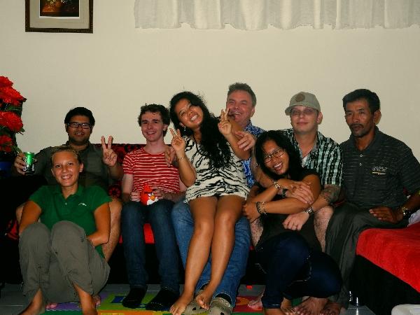 Boaz' Familie und Freunde