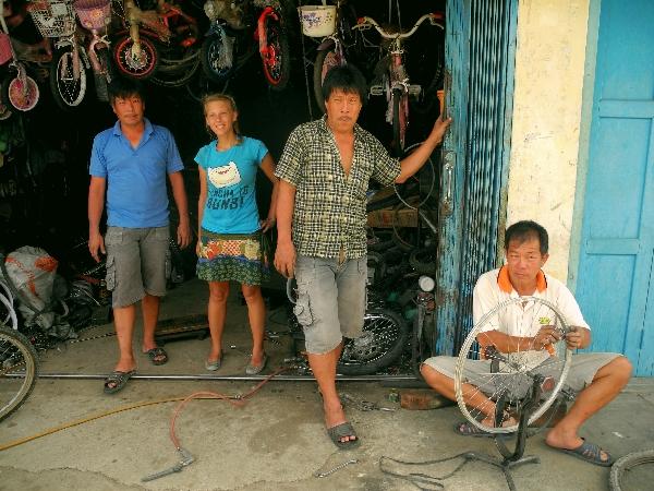 Bike shop Rengat, Riau, Sumatra