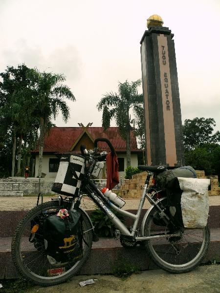 Equator in Sumatra